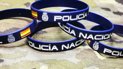 pulsera-goma-policia-nacional