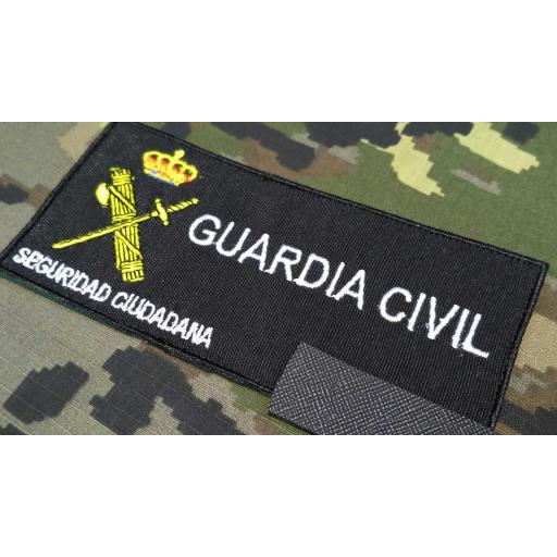 PARCHE PECHO GUARDIA CIVIL NUMERO DE IDENTIFICACIÓN PERSONAL.