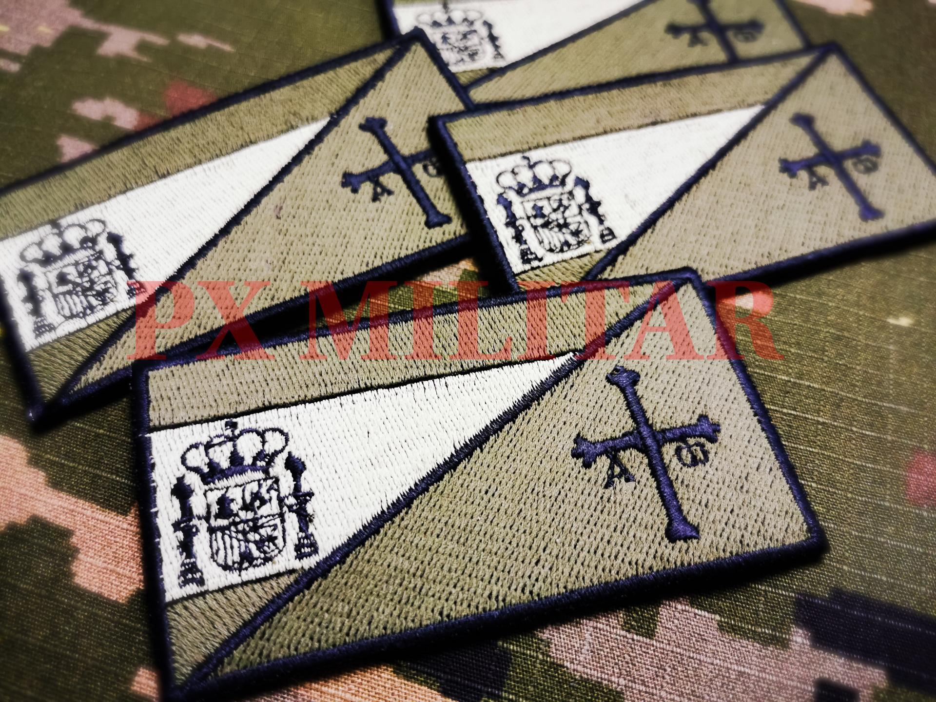 Parche-bordado-bandera-España-Asturias-tactico-od