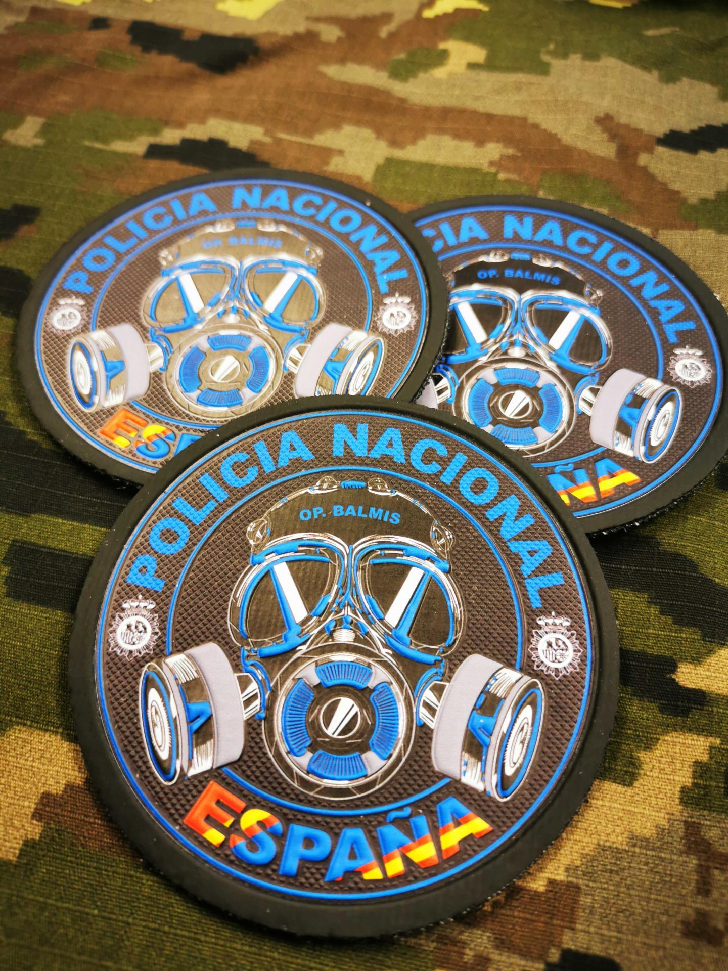 Parche coronavirus Policía Nacional
