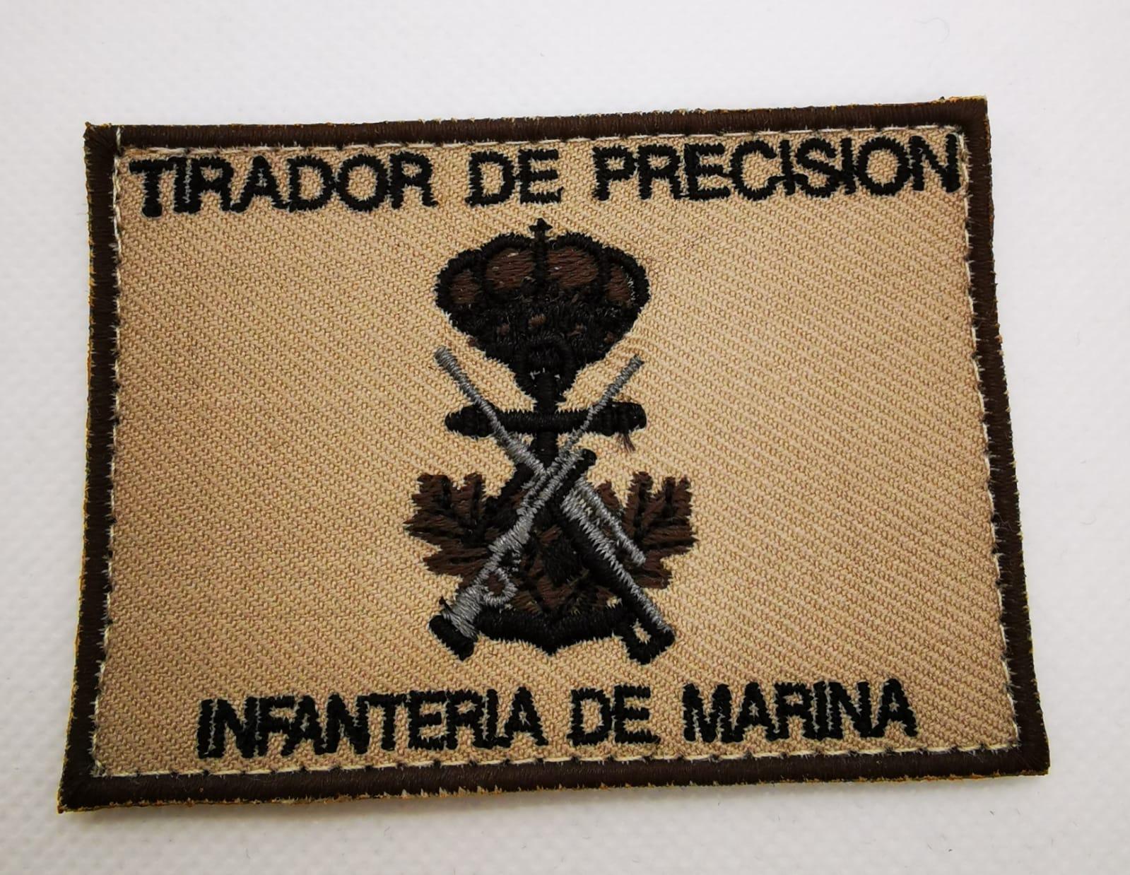 PARCHE CURSO TIRADORES PRECISIÓN INFANTERINA MARINA.