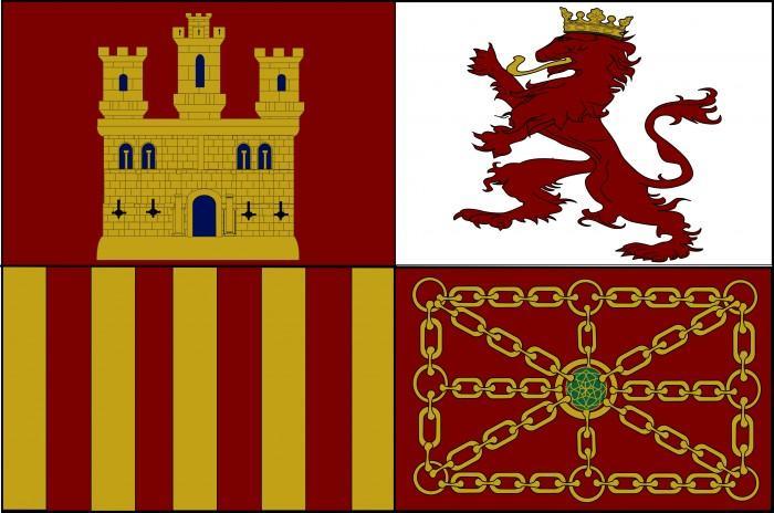 Bandera Estandarte de España