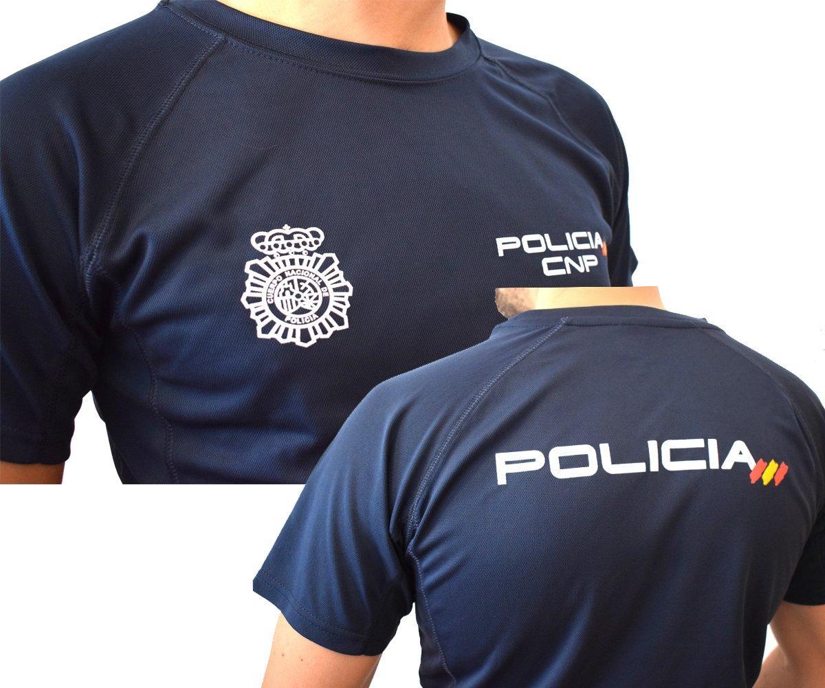 CAMISETA ALGODÓN CUERPO NACIONAL POLICÍA.