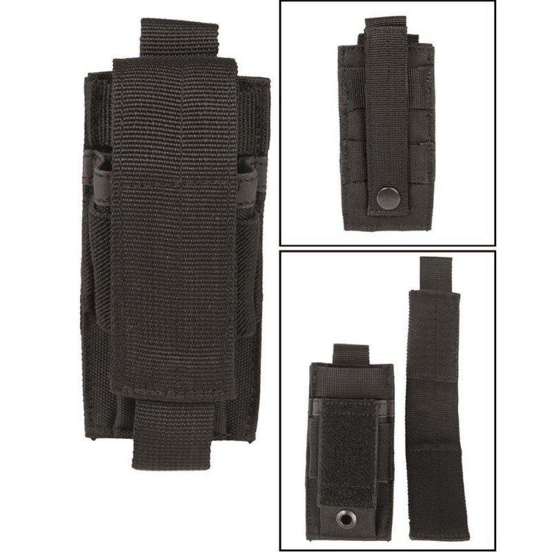 Funda portacargador de  Pistola MOLLE MIL-TEC NEGRO