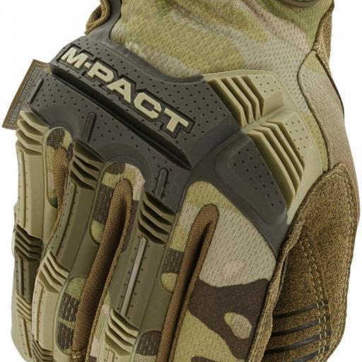 Guantes militares Mechanix M-PACT multicam