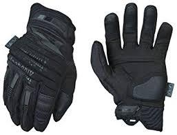 Guantes Mechanix M-PAC 2 color negro.