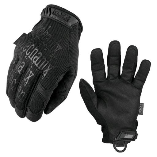 GUANTES TÁCTICOS MECHANIX ORIGINAL COLOR NEGRO