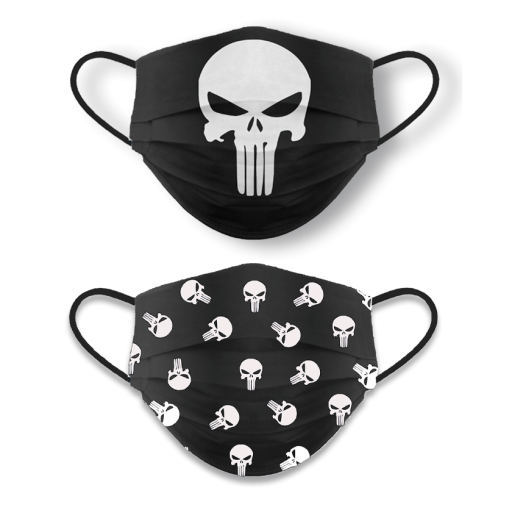 Mascarilla reversible Punisher