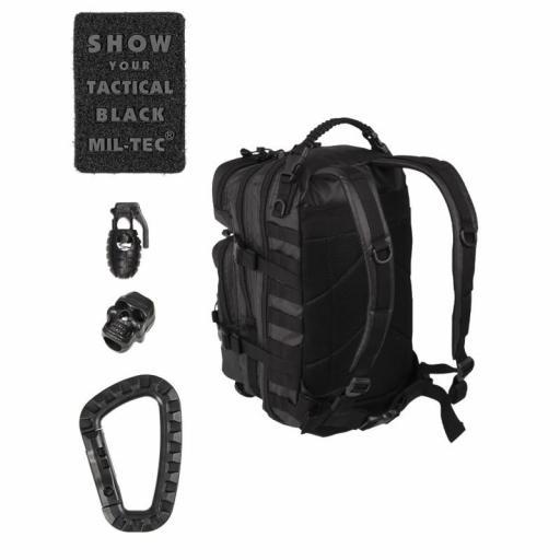 Mochila MILTEC US Assault Tactical Black 36 Litros [1]