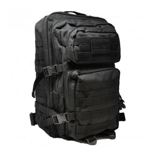 MOCHILA MIL-TEC US ASSAULT 36L LG COLOR NEGRO.
