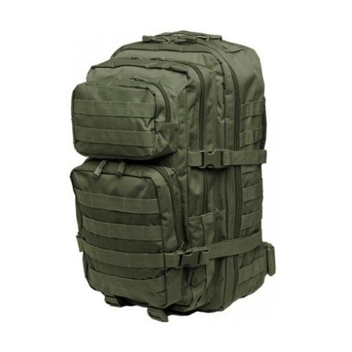 MOCHILA MIL-TEC US ASSAULT PACK LG 36L COLOR OD.