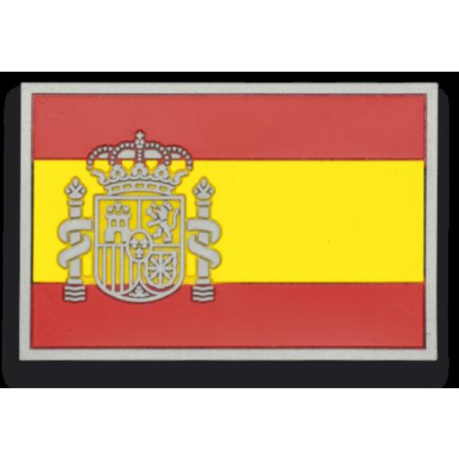 PARCHE BANDERA ESPAÑA COLOR ( TAMAÑO GRANDE )