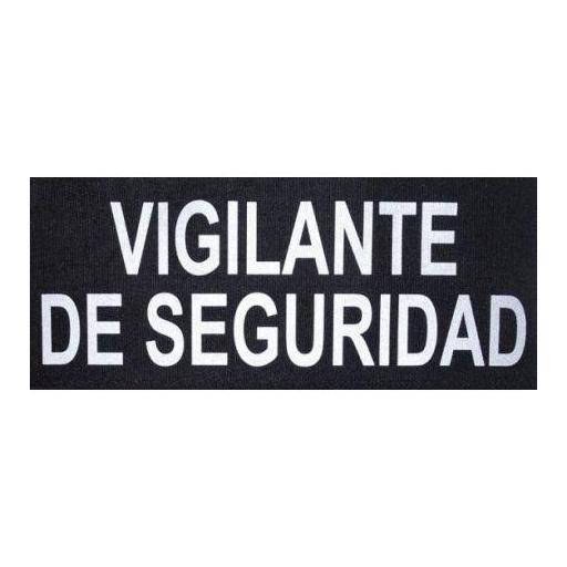 PARCHE VIGILANTE DE SEGURIDAD REFLECTANTE. [1]