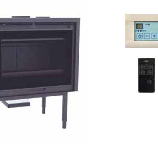 Inserable leña Marca FM Modelo IZ-100 FKP [1]