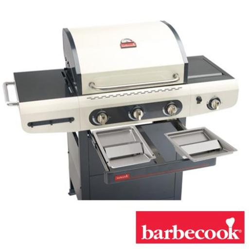 Barbacoa de gas Marca Barbecook Modelo Siesta 310 crema [2]