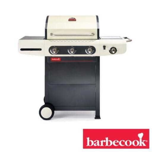 Barbacoa de gas Marca Barbecook Modelo Siesta 310 crema