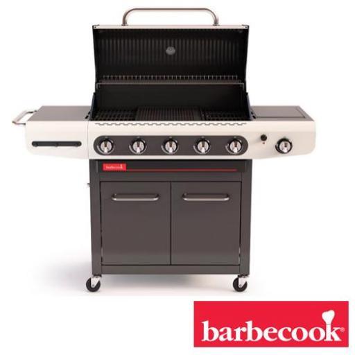 Barbacoa de gas Marca Barbecook Modelo Siesta 512 crema  [1]