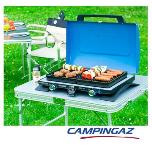 Cocina portatil Marca Campingaz Modelo 400 SG [1]