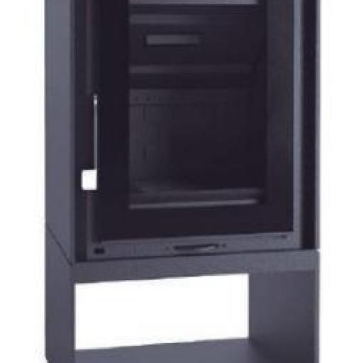 Estufa leña Marca FM Modello EZ-150 FK [1]