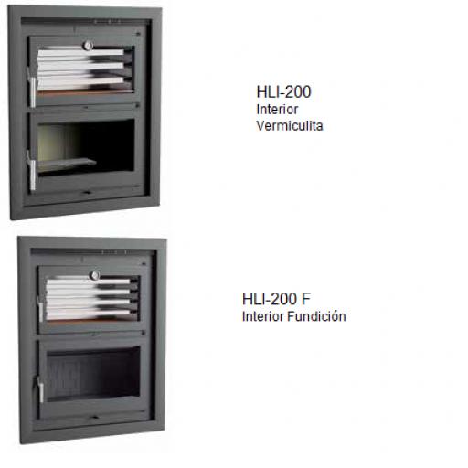 Horno leña Marca FM Modelo HLI-200 [1]