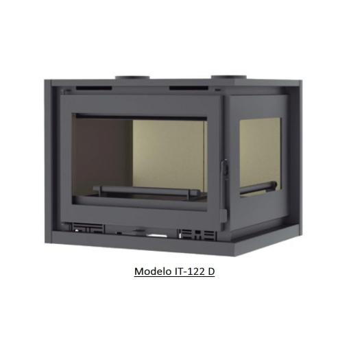 Insertable de Leña 2 caras Modelo IT-122 I / IT-122 D [1]