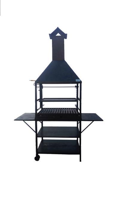 Barbacoa de leña/carbon Modelo Herrera
