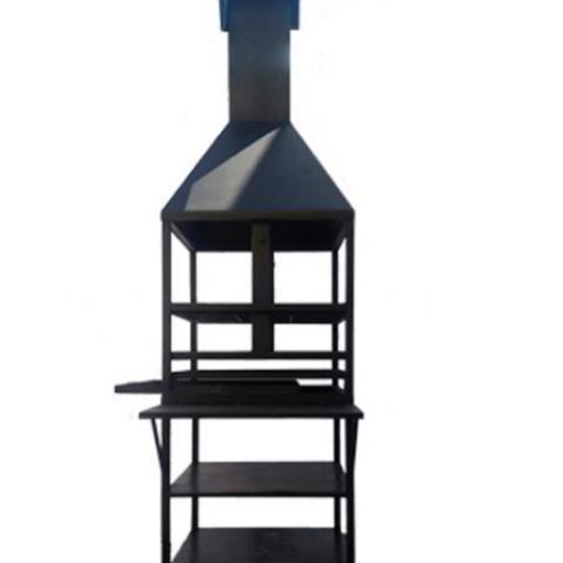 Barbacoa de leña/carbon Modelo Herrera [1]