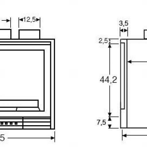 Insertable de leña Modelo Insert 700GV 14Kw [1]
