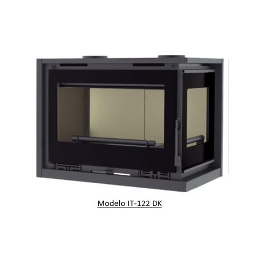 Insertable de Leña 2 caras Modelo IT-122 I / IT-122 D [3]