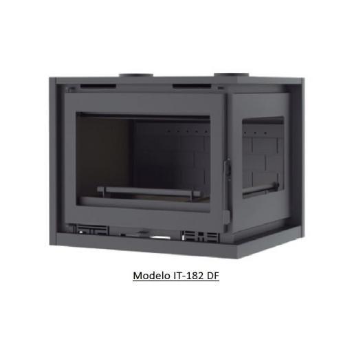 Insertable de Leña de Rincón 2 caras Modelo IT-182 I / IT-182 D [2]