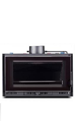 Hidro insertable de leña Mini VitrusAC 26,6Kw