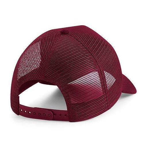 Gorra de ante Trucker color borgoña [1]