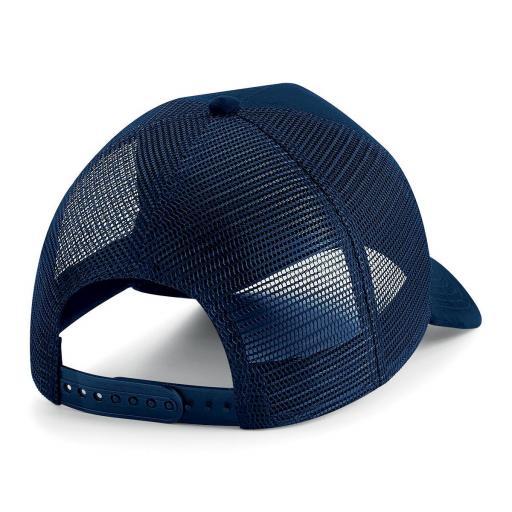 Gorra de ante Trucker color marino [1]