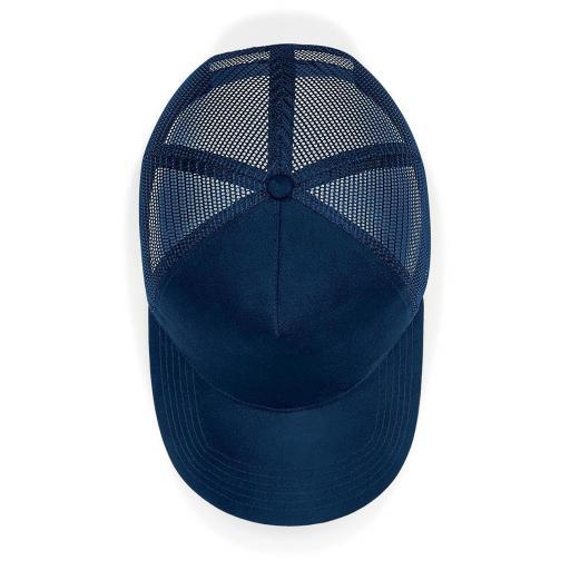 Gorra de ante Trucker color marino [2]