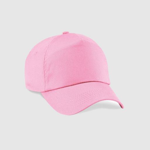 """Gorra junior clásica """"Inicial relieve"""" color rosa"""