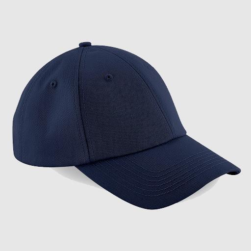 Gorra clásica personalizada texto color azul marino