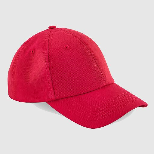 "Gorra clásica ""Inicial relieve"" color rojo"