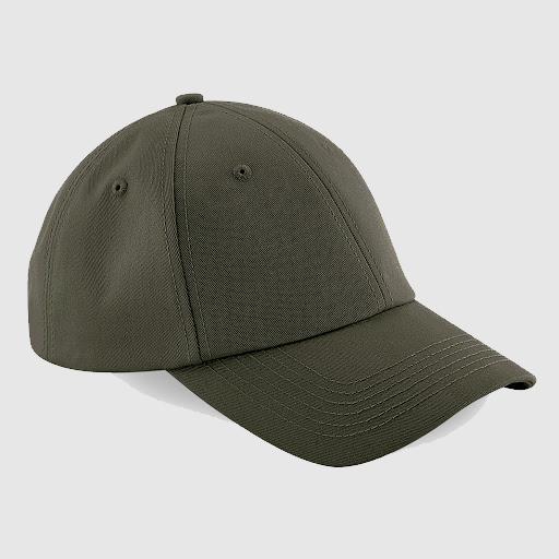 Gorra clásica personalizada texto color verde militar