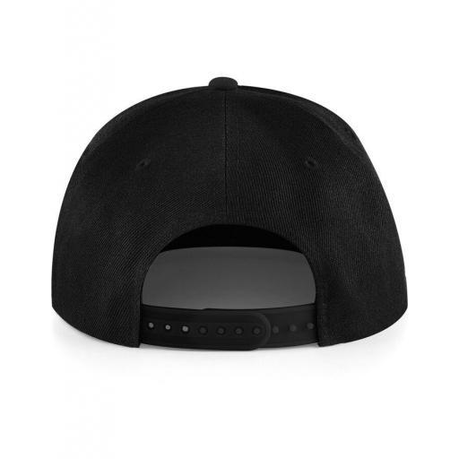 Gorra snapback color negro. [1]