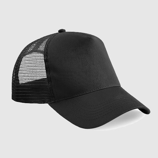 "Gorra Trucker ""parche"" color Negro"