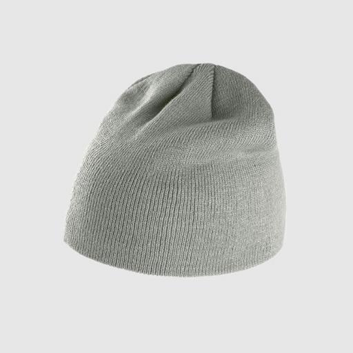 Gorro básico color gris claro.