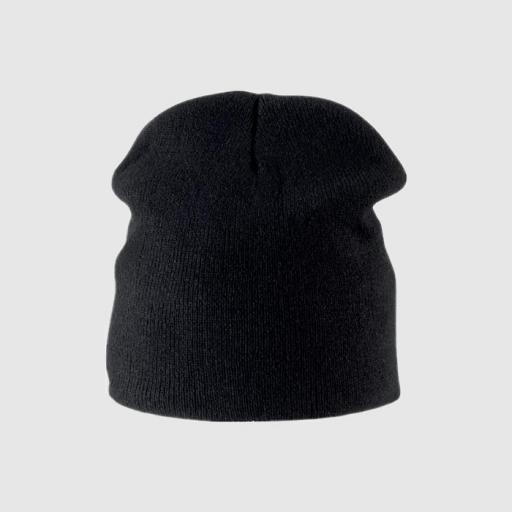 Gorro skater color negro. [0]
