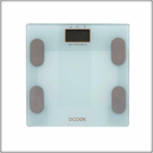 Báscula mide grasas