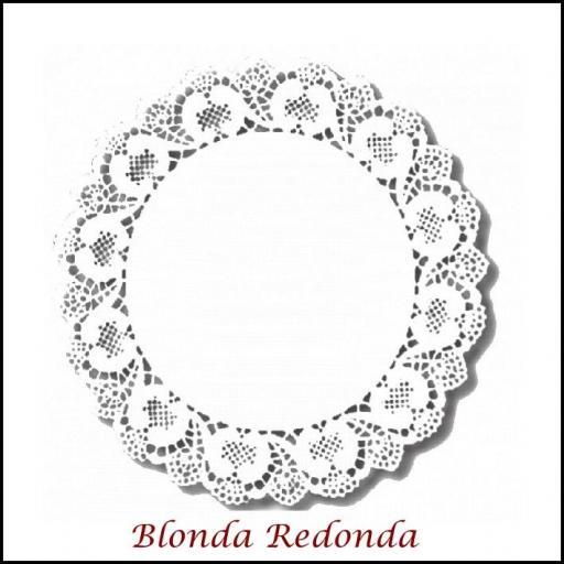 Blondas Redondas (200 por caja)