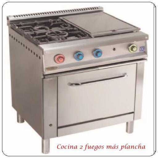 Cocinas serie 750