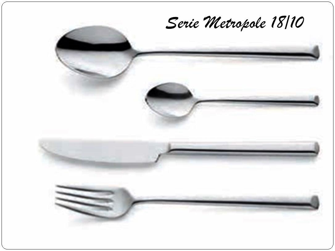 Modelo METROPOLE 18/10 Grosor 2,5 mm.