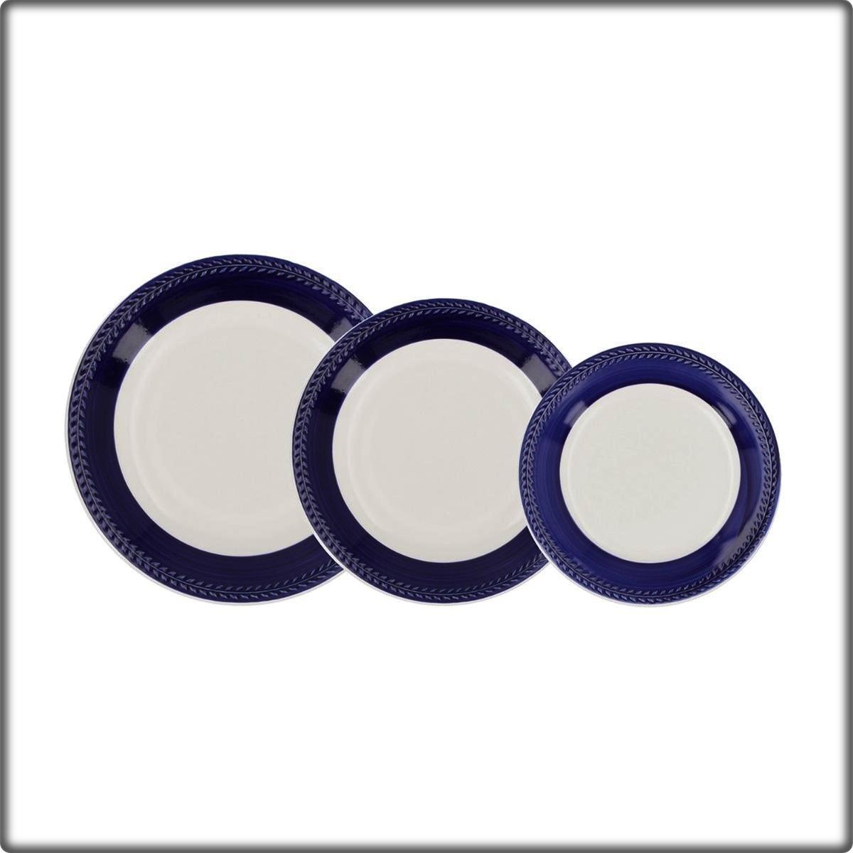 Vajilla Donna Azul Ceramich Itlia Caja 18 piezas