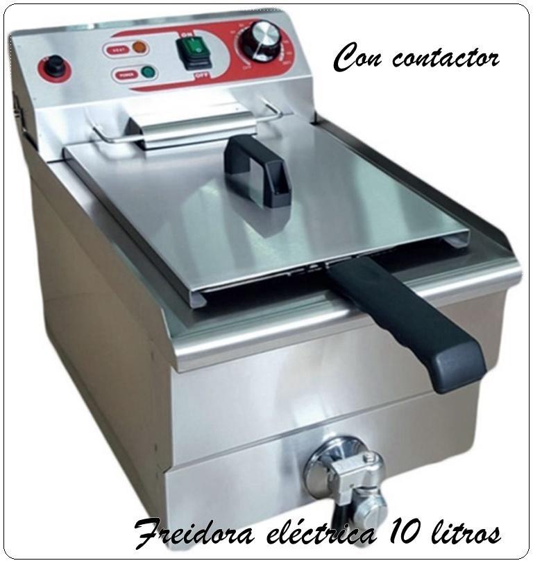 Freidora eléctrica c/grifo EF-131V-