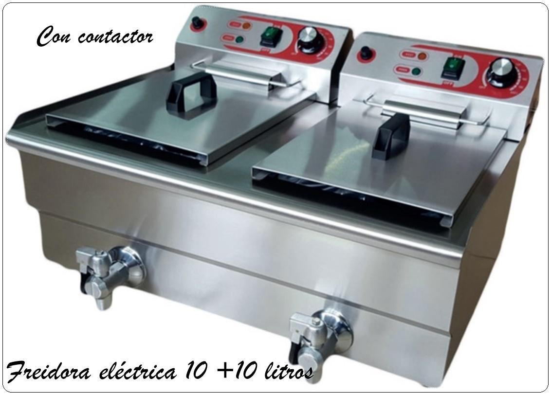 Freidora eléctrica. C/grifo EF-132v