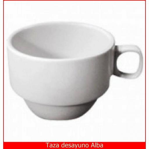 Taza Alba